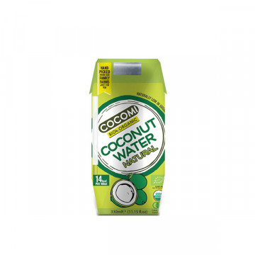Natural coconut water 330 ml