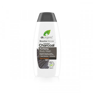 Active charcoal shower gel...