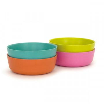 Bamboo bowls 4 set