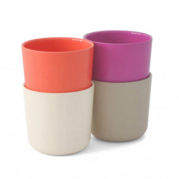 Bamboo 4 cups set