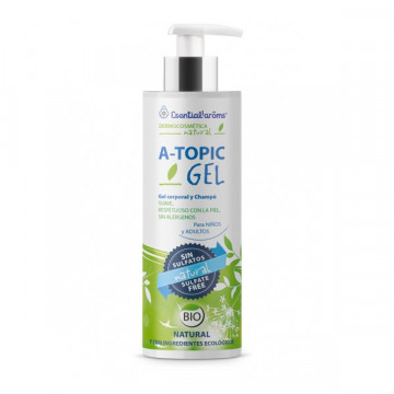 Atopic skin shampoo body...