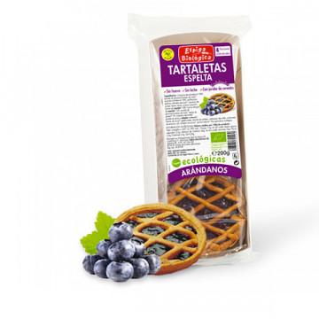 Blueberry spelt tarts 200 gr