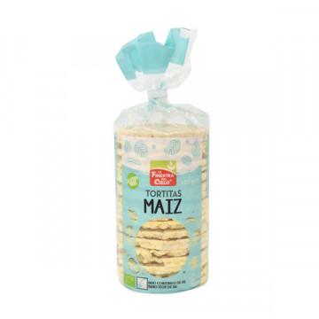 Corn with salt ricecake bag...