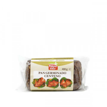 Germinated rye bread 400 gr