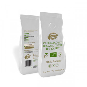 Arabica ground coffee 250 gr