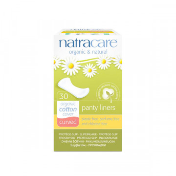 Curved panty liner 30 und
