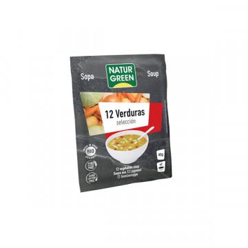 12 vegetables soup 40 GR