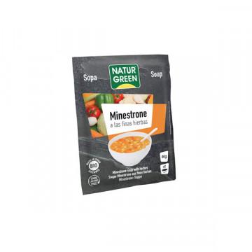 Fine herb minestrone soup...