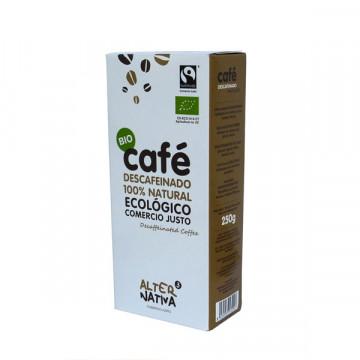 CAFÉ DESCAFEINADO 250 GR