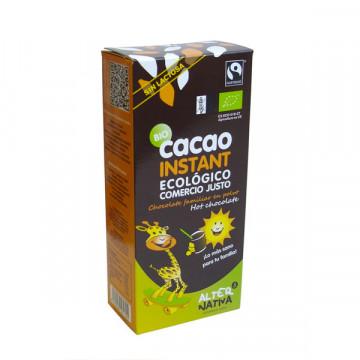 Instant cocoa panela powder...