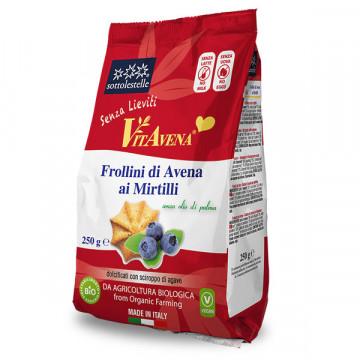 Blueberry oat cookies 250 gr