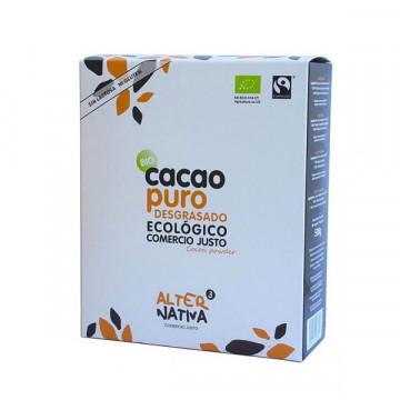 Fat free pure cocoa powder...
