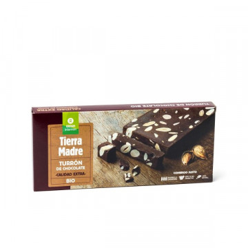 Almond chocolate turron 200 gr