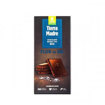 70 % Salted dark chocolate...