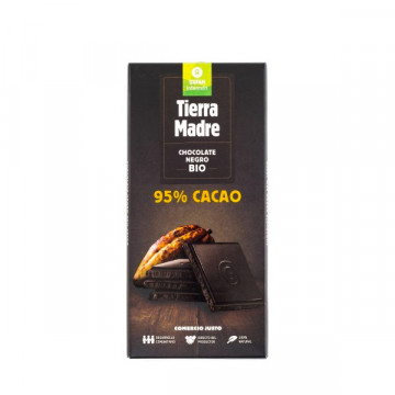 95 % Dark chocolate  80 gr