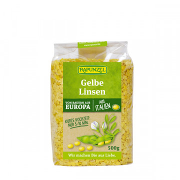 Yellow lentils 500 gr