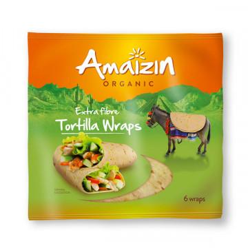 Extra fibre tortilla wrap...