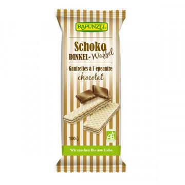 Chocolate spelt wafers 100 gr