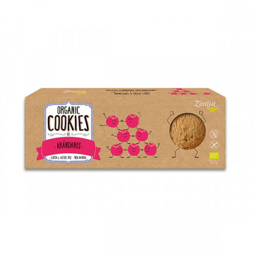 Blueberry rice cookies 135 gr