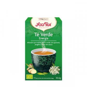 Energy green tea 17 bags
