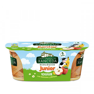 Apple banana junior yogurt...