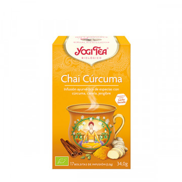Chai turmeric tea 17 bags