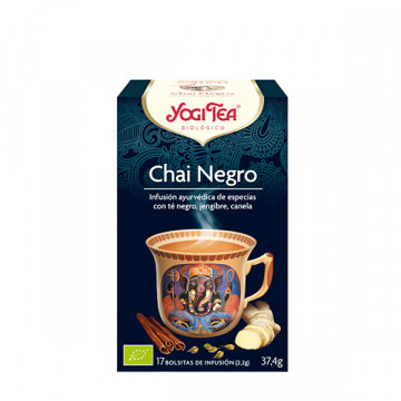 Black chai tea 17 bags