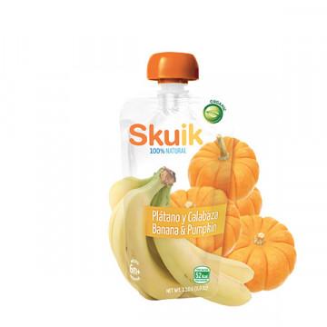 Banana pumpkin puree 110 gr