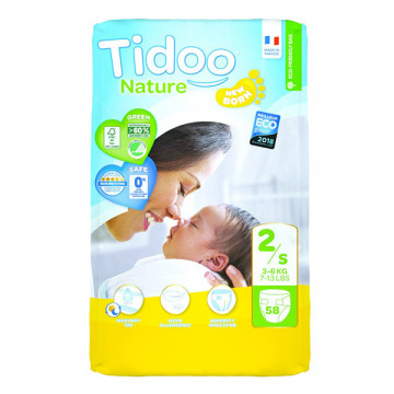 Diapers T2 S 3-6 kg 58 und