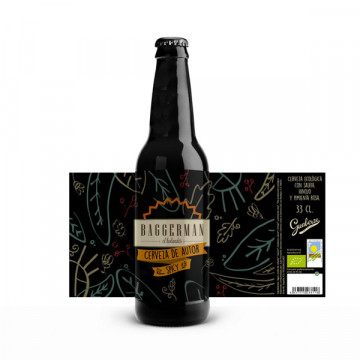 Baggerman beer 33 cl