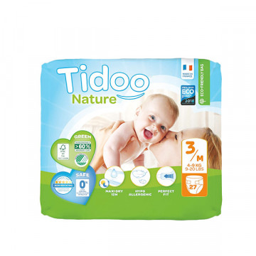 Diapers T3 4-9 kg 27 und