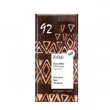 Dark chocolate 92% 80 gr