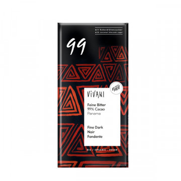 Chocolate 99 % 80 gr