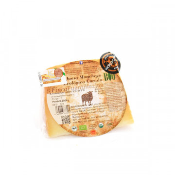 Manchego cured cheese 200 gr