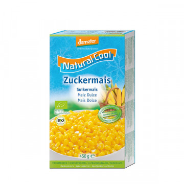 Frozen sweetcorn 450 gr