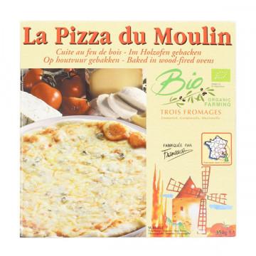 Three cheeses frozen pizza...