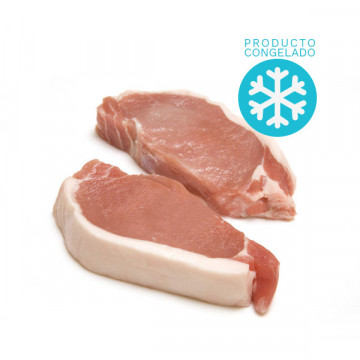 Filleted pork loin