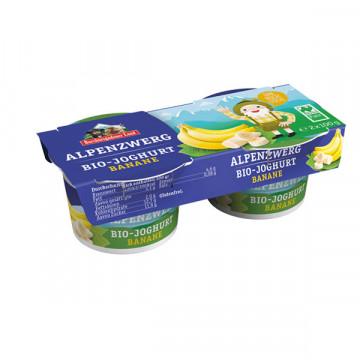 Children banana yogurt...