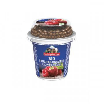 Crunchy choco raspberry...