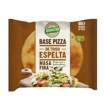 BASE PIZZA ESPELTA MASA...