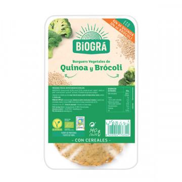 BURGER QUINUA BRÓCOLI 140 GR