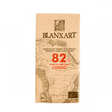 82% Congo chocolate 125 gr
