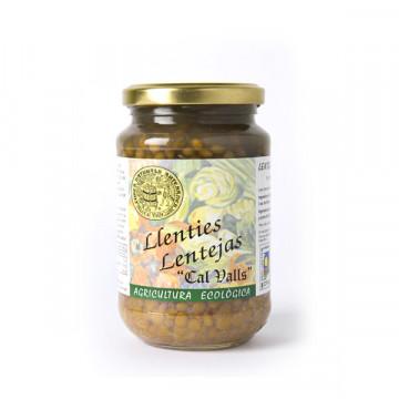 Cooked lentils jar 350 gr