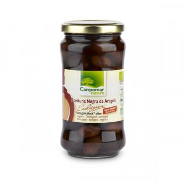 Black olive jar 350 gr